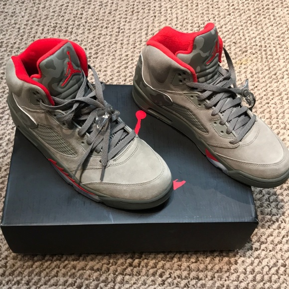 1030882c7cb Jordan Shoes | Air 5 Retrodark Stuccouniversity Red 105 | Poshmark